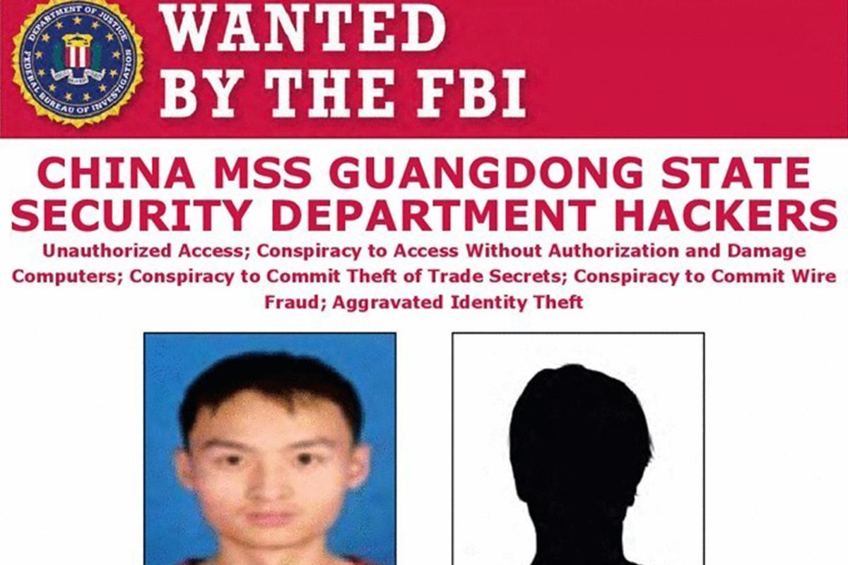 Ficha del FBI de los dos 'hackers' buscados.