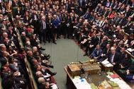 La Cámara de los Comunes, en una imagen de archivo.