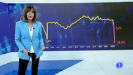 TVE corrige su polémico gráfico de la caída del PIB y pide disculpas
