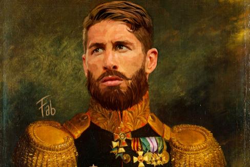"""Sergio Ramos, el último cipotudo: """"Juega como si acabara de apearse de su propia estatua ecuestre"""""""