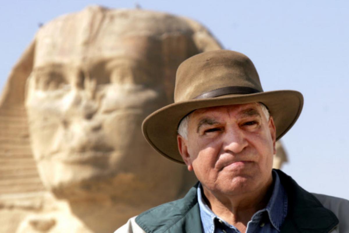 El egiptólogo Zahi Hawass.