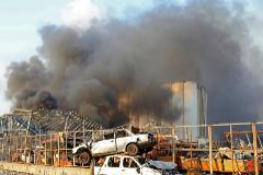 Al menos 73 muertos y 3.700 heridos tras dos explosiones  en el puerto de Beirut
