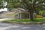 La casa de la película, en Florida.