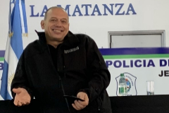 Sergio Berni, ministro de Seguridad de Buenos Aires.