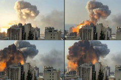 Las explosiones de Beirut han  dañado casi la mitad de la ciudad y dejan sin hogar a 300.000 personas