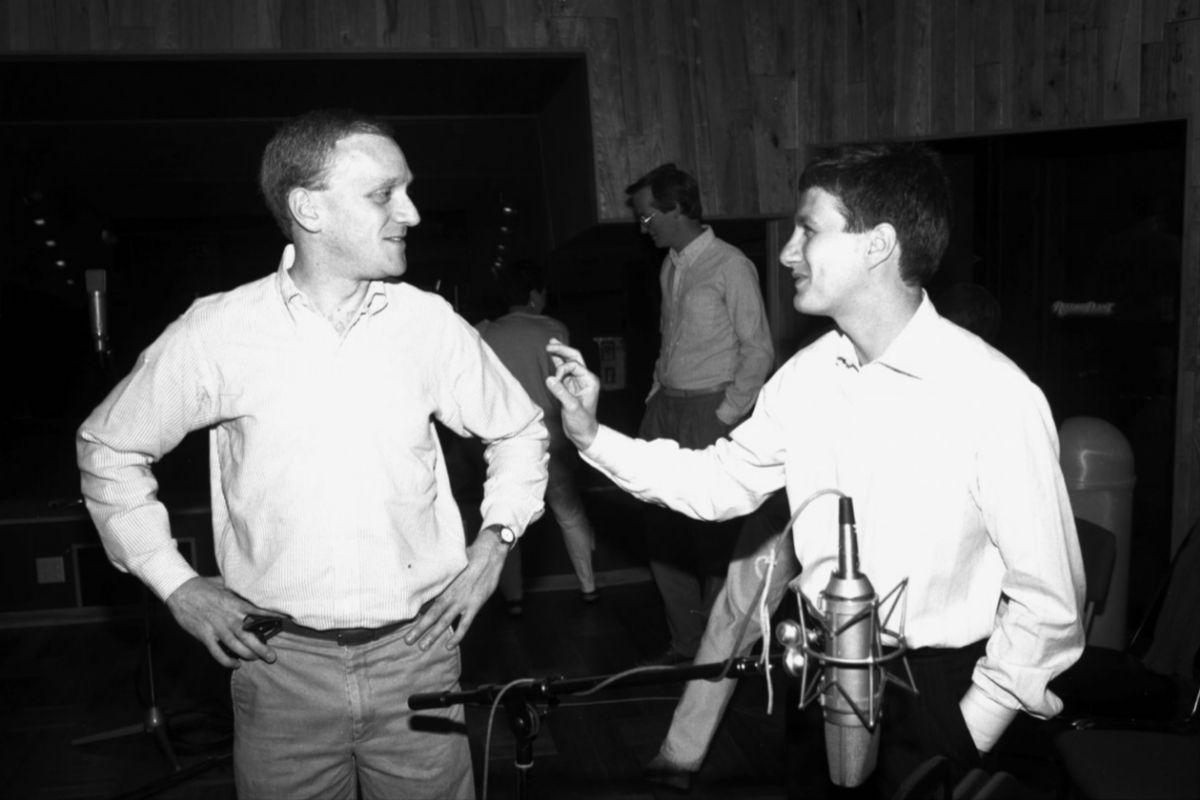 Howard  Ashman, en una imagen recuperada en el documental de Don Hahn.