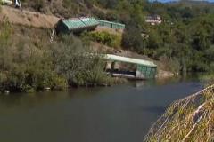 La Xunta pide explicaciones al Gobierno por los vagones arrojados al Sil