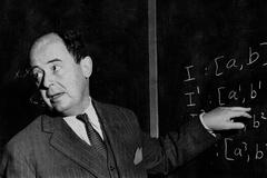 Johnny Von Neumann, el matemático que fue clave en el diseño de la bomba atómica.