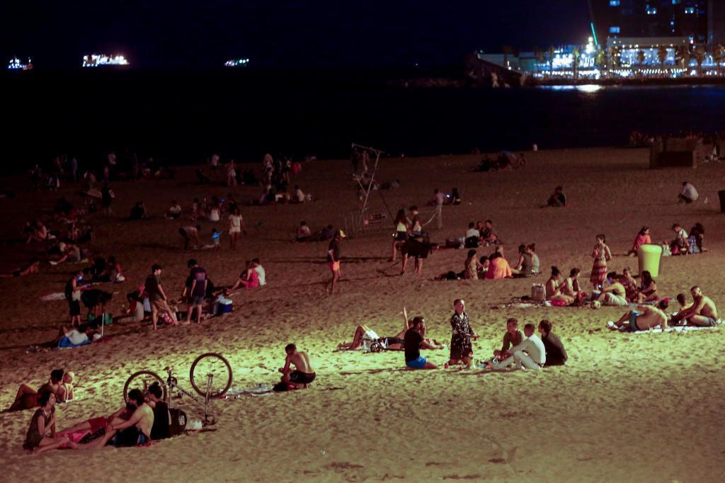 El ataque tuvo lugar en una playa de Barcelona