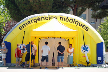 The outbreak of the lt;HIT gt;coronavirus lt;/HIT gt; disease (COVID-19), in Sabadell