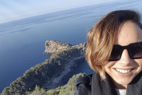 Chenoa, en Sa Foradada (Mallorca), en 2016.