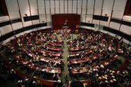 Parlamento de Hong-Kong.