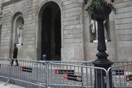 Fachada de la Audiencia de Barcelona