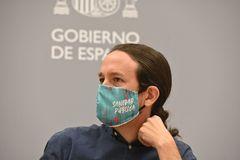 El vicepresidente segundo y líder de Podemos, Pablo Iglesias, en un acto reciente.