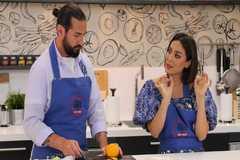 Javier Peña y Tamara Falcó en 'Cocina al punto'.