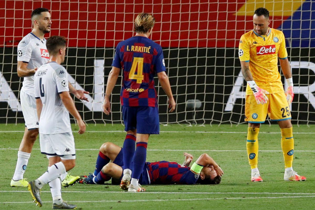 El cóctel más completo de Messi: tesón, talento, récord y un susto que no le impedirá viajar a Lisboa