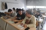 Alumnos chinos en un máster de la Universidad Complutense de Madrid
