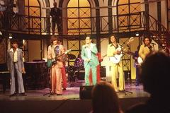 El grupo Los Manolos.