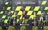 Morbidelli, Binder y Zarco, en el podio de Brno este domingo