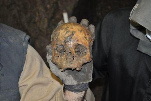 Arqueólogos resuelven un dantesco crimen en una cueva en el neolítico
