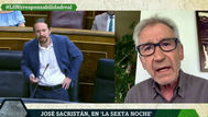 Las palabras de José Sacristán en La Sexta Noche sobre la monarquía y Pablo Iglesias