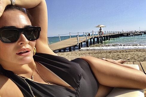Vicky M. Berrocal, el verano pasado en Turquía.