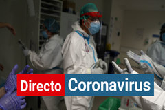 Personal sanitario contra el coronavirus en el Hospital Infanta Sofía de Madrid.