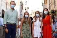La Familia Real en Mallorca
