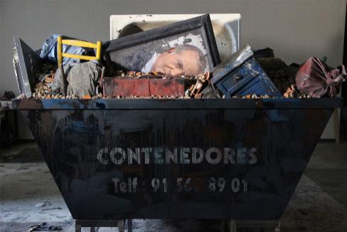 La instalación-escultura de Cristóbal Toral, de 2014. COLECCIÓN DEL ARTISTA
