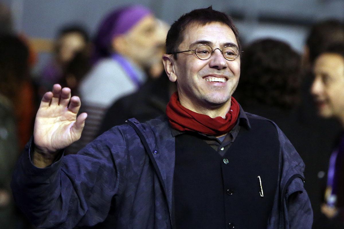 Juan Carlos Monedero, uno de los fundadores de Podemos.