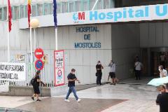 El hospital de Móstoles de Madrid