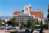 Fachada del Hospital Universitario Joan XXIII de Tarragona.