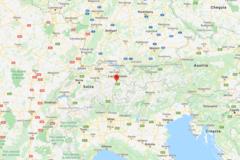 El lugar de Suiza, cercano a la frontera de Liechtenstein, donde se ha producido el accidente