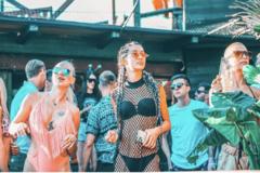 Imagen de una fiesta de este verano en el Noa Beach Club de Pag.