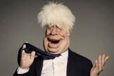 Boris Johnson, retratado por 'Spitting Image'.