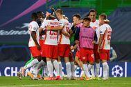 Champions League - Quarter Final - RB lt;HIT gt;Leipzig lt;/HIT gt; v Atletico Madrid