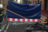 Tres muertos y un herido grave  en un incendio en Barcelona