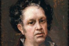 'Autorretrato', Francisco de Goya.