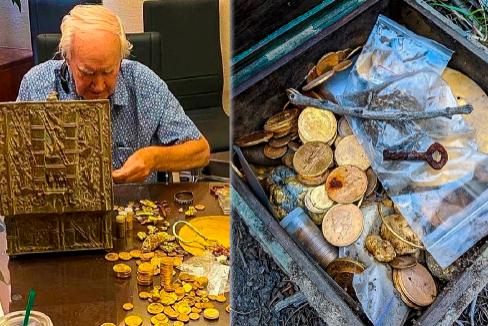 Forrest Fenn, de 89 años, y el tesoro que escondió.