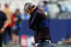 Setién apura sus últimas horas en un Barça que tiene a Pochettino en la recámara