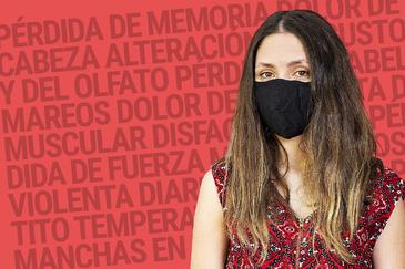 Elizabeth Semper, afectada por la Covid persistente.