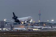 Avión de Lufthansa, aerolínea alemana que ha recibido ayudas del estado germano