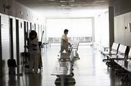 Interior de un centro de salud de Madrid.