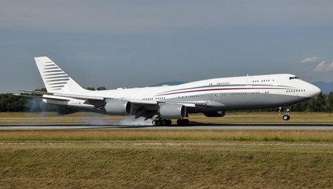 Este modelo de Boeing tiene una extensión de 450 metros cuadrados.