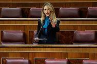 La diputada del PP Cayetana Álvarez de Toledo, en el Congreso de los Diputados.