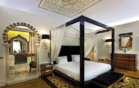 La suite árabe es un homenaje al mármol.