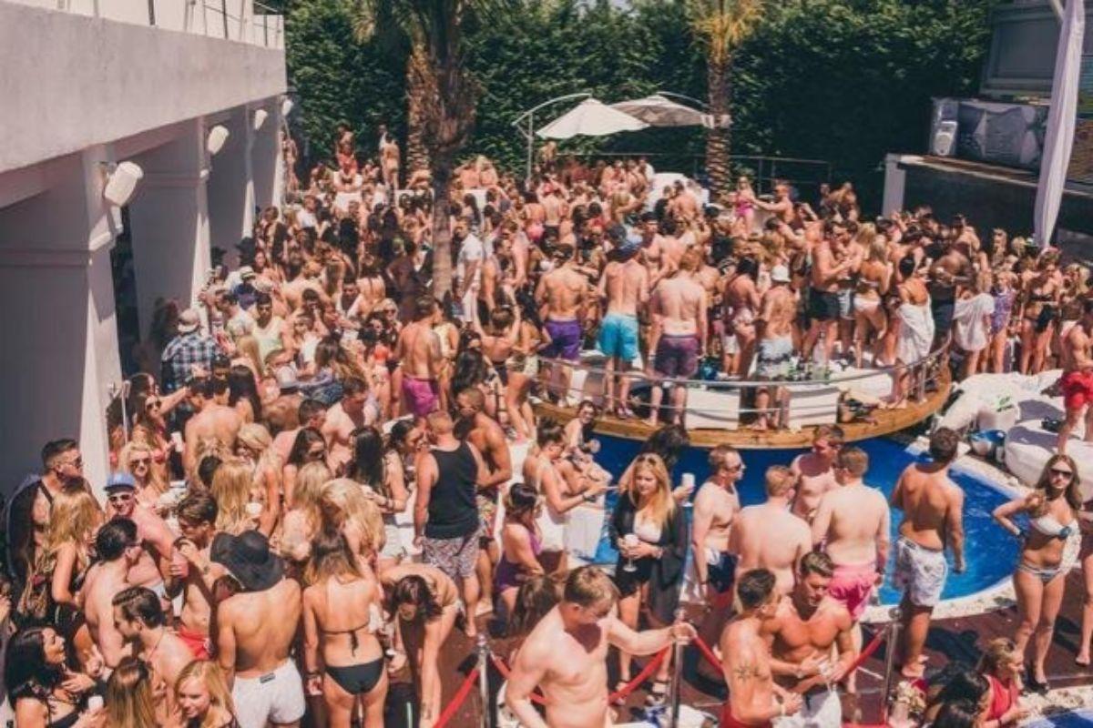 Fiesta en el hotel Sisu, en 2017
