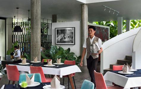 El restaurante especializado en cocina local.