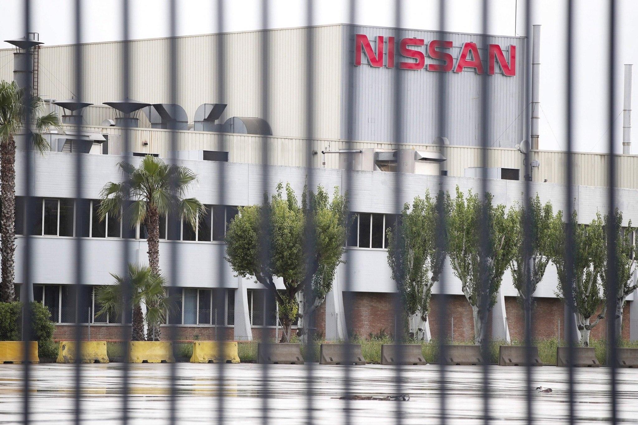 Nissan Zona Franca, hace año y medio durante el confinamiento sanitario.