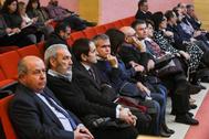 Torres Hurtado, junto al resto de enjuiciados por el 'caso Serrallo' en la Audiencia de Granada el pasado 3 de febrero.
